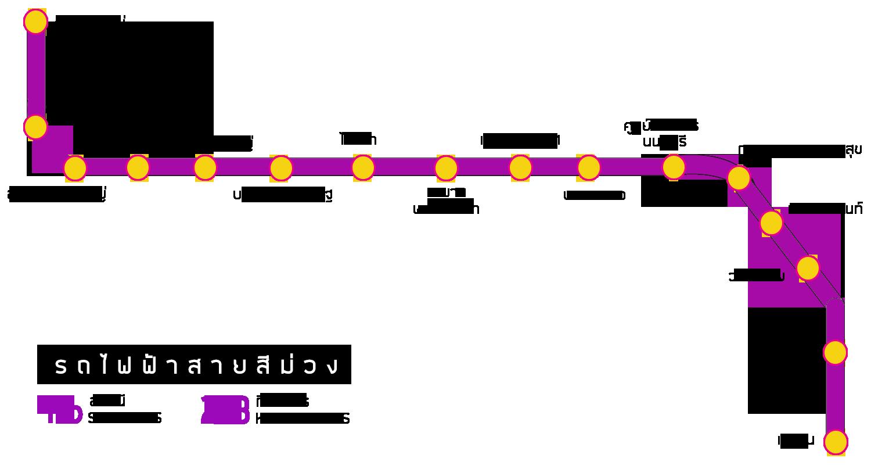 สถานี รถไฟฟ้าสายสีม่วง
